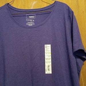 Sonoma Tee purple XL